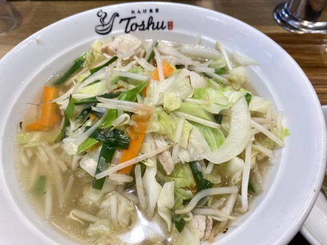 れんげ食堂Toshuの野菜スープ