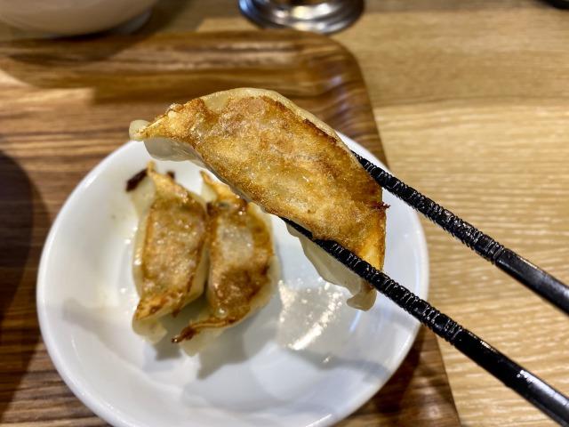 れんげ食堂Toshuの餃子アップ