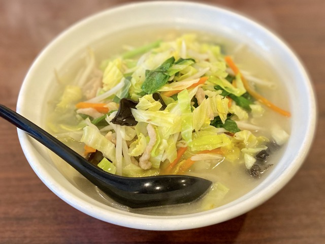 蘭の野菜湯麵