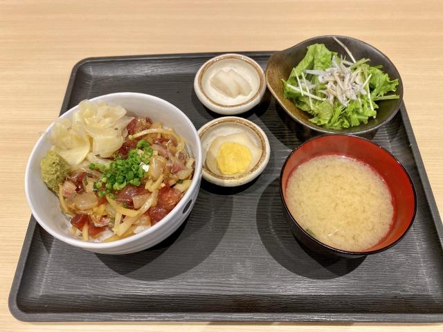 浜田山のこよしの海鮮丼定食