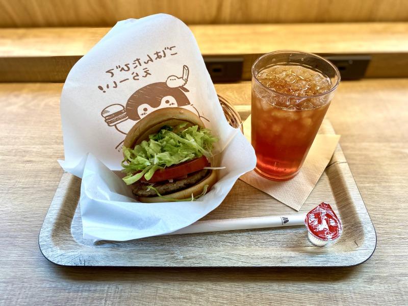 浜田山のモスバーガーのモス野菜バーガーセット