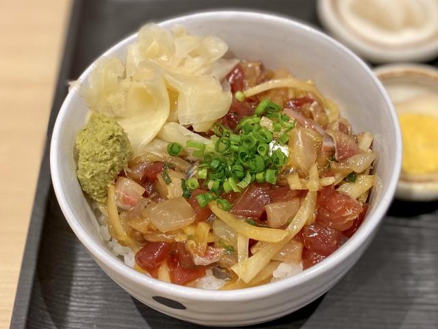 浜田山のこよしの海鮮丼(アップ)