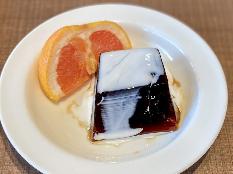 オレンジとコーヒーゼリー