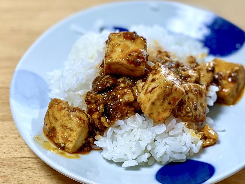 高井戸麻婆TABLEの麻婆豆腐とご飯