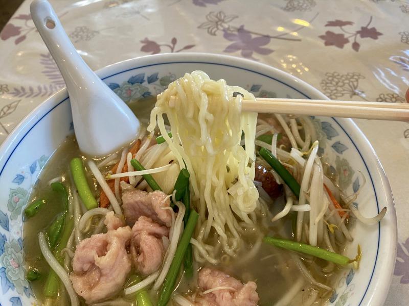 浜田山の一番の一番湯麵(アップ)