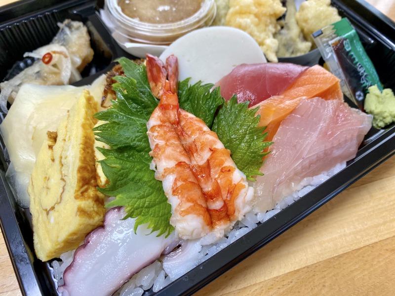 魚河岸のちらし寿司