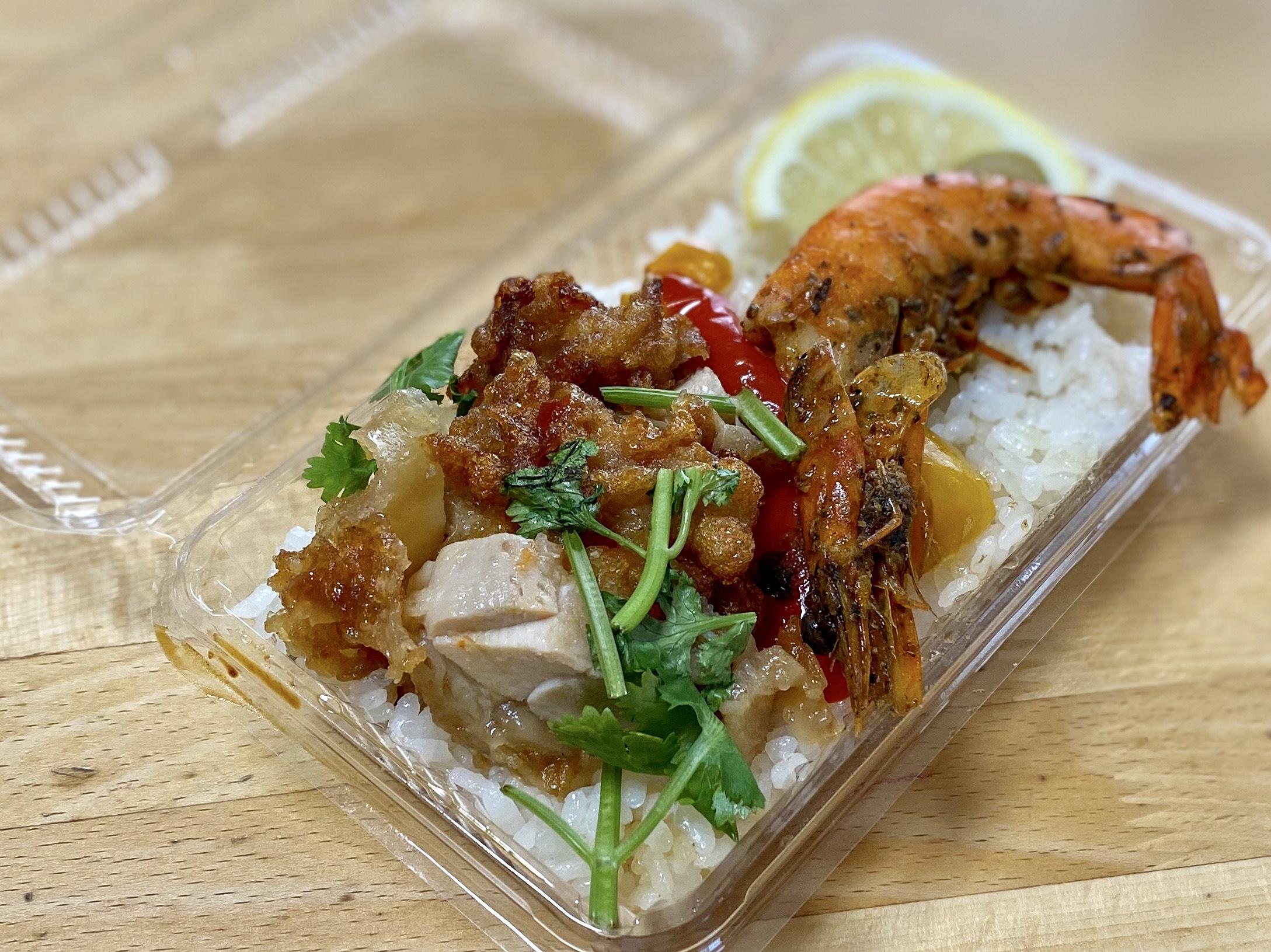 福のからのシンガポール風海南鶏飯