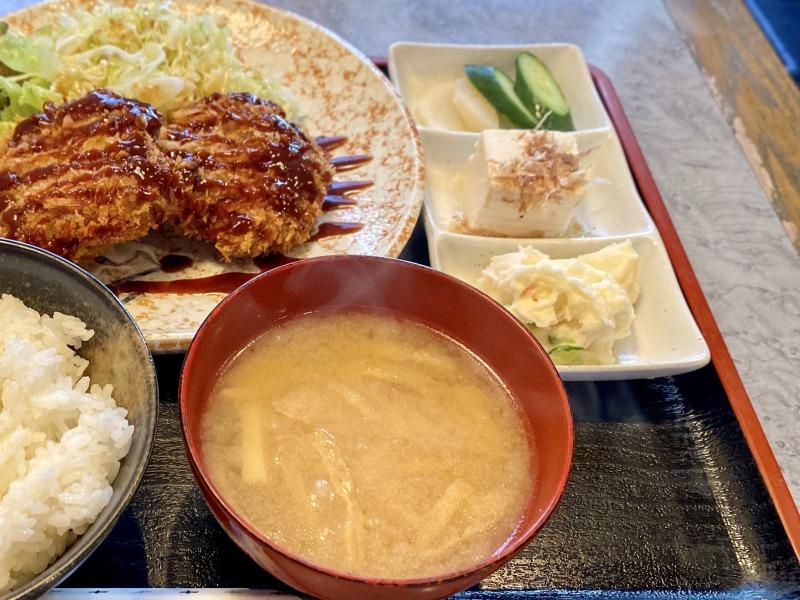 05.高井戸の喜代司の定食のサイドメニュー