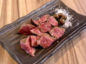 肝心屋 浜田山店の赤身ステーキ