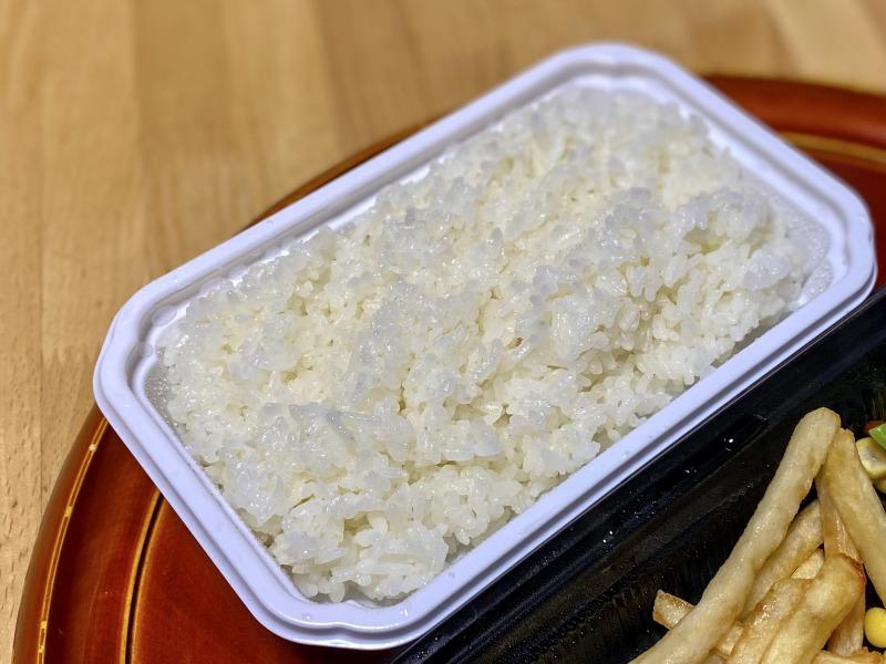 フォルクス高井戸東店のフォルクスハンバーグ弁当のライス