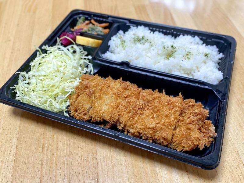 とんかつ新宿さぼてん 浜田山壱番街店の特撰やわらかヒレかつ弁当