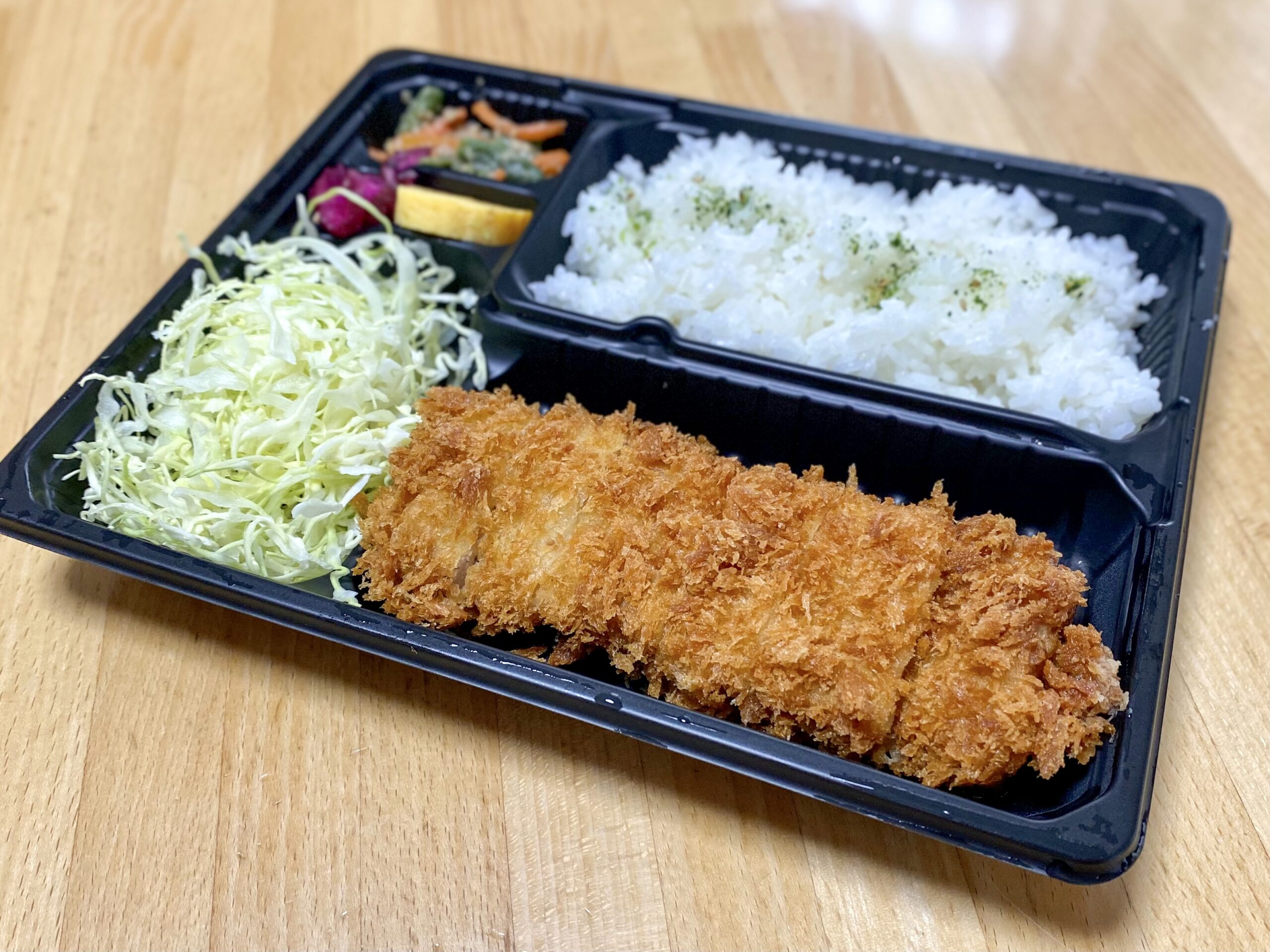 さぼてん浜田山壱番街店の特撰やわらかヒレかつ弁当