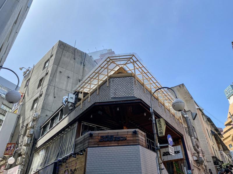 挽肉と米 渋谷店の外観