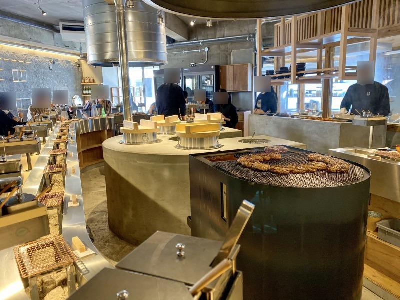 挽肉と米 渋谷店の内観