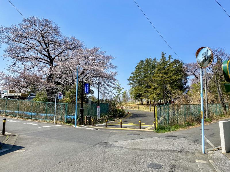 高井戸公園の入口