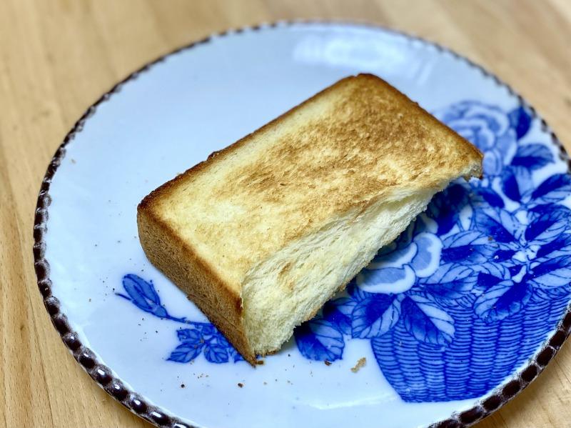 モスバーガー浜田山駅前店で購入した濃厚な食パンのトースト1