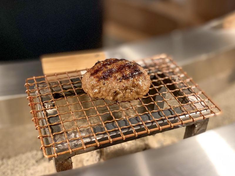 挽肉と米 渋谷店の焼きたてハンバーグ