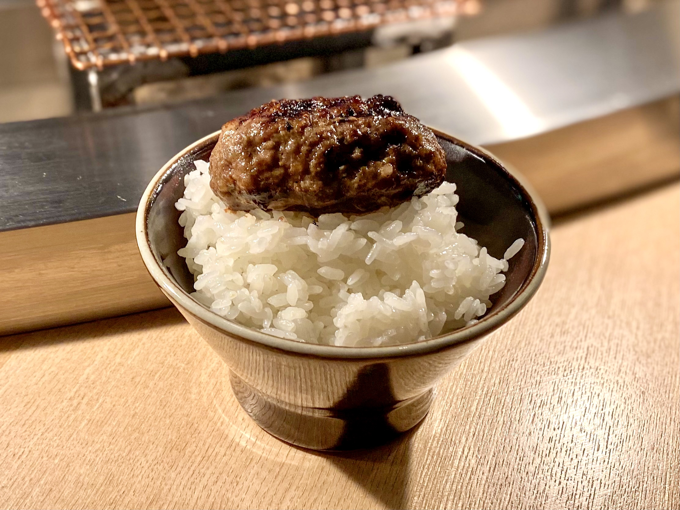 挽肉と米 渋谷店の焼きたてハンバーグオンザライス