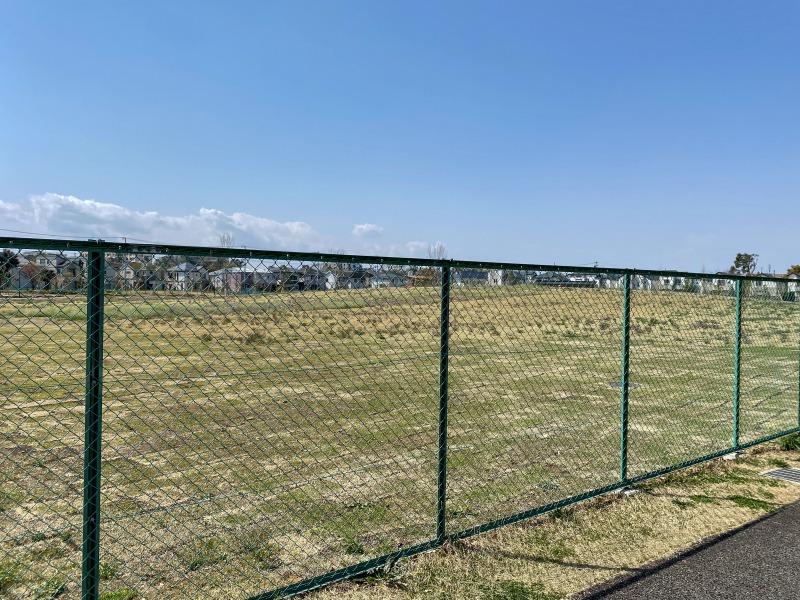 高井戸公園の未オープンスペース