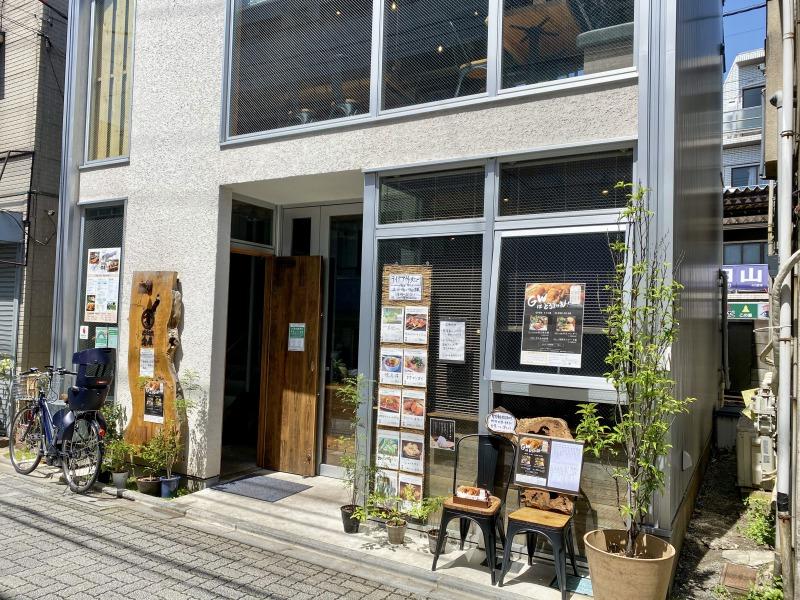 どろまみれ倉庫浜田山店の外観