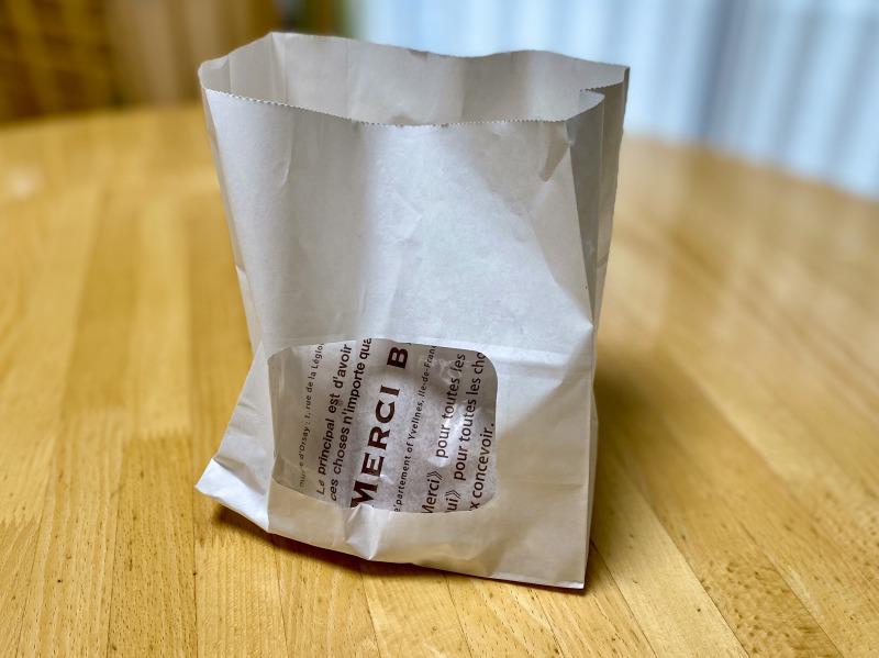 ソレダメで特集されたオリンピックの半熟たまごのザクザクカレーパンの袋
