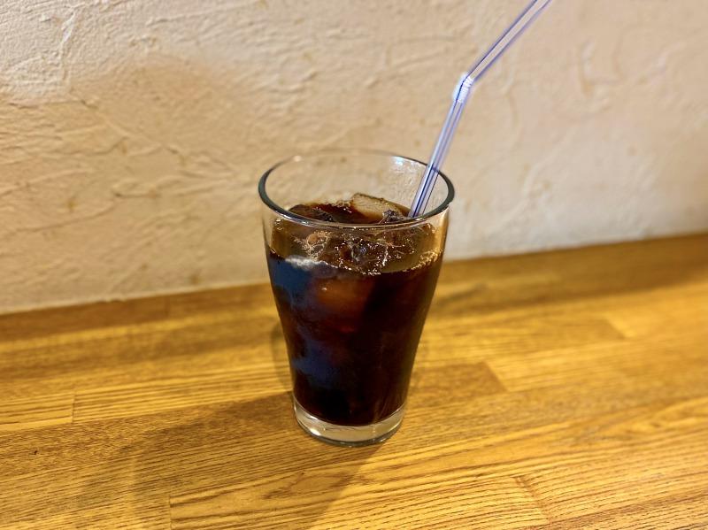 浜田山のヴィッコリーノのアイスコーヒー